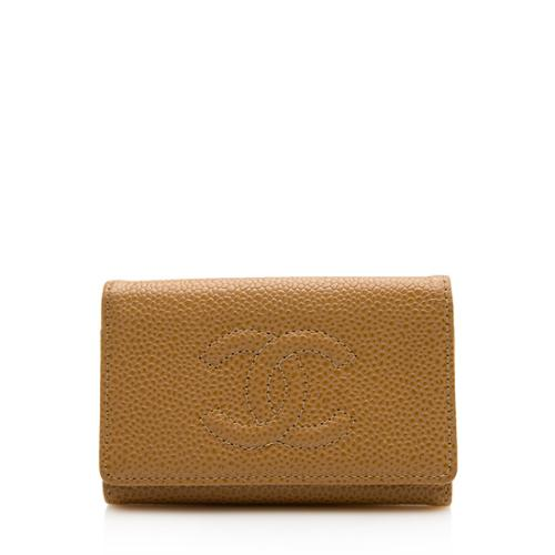 Chanel Caviar Leather Timeless 6 Key Holder