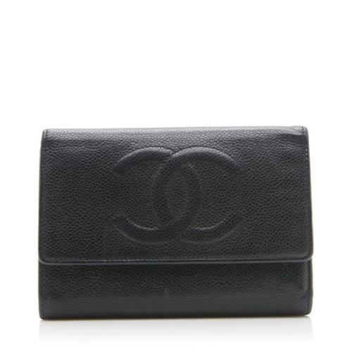 Chanel Caviar Leather Timeless CC Wallet