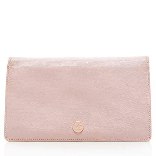Chanel Lambskin CC Yen Wallet