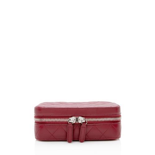 Chanel Lambskin Jewelry Case