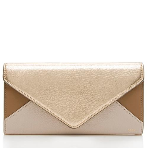 Chloe Leather Envelope Wallet