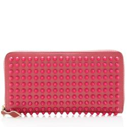 Christian Louboutin Leather Panettone Spikes Wallet