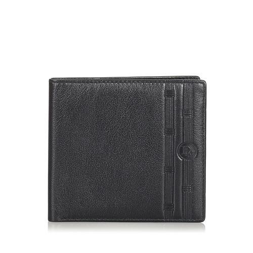 Dior Bi-Fold Leather Wallet