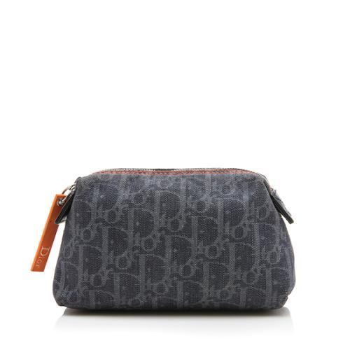 Dior Denim Diorissimo Flight Cosmetic Bag