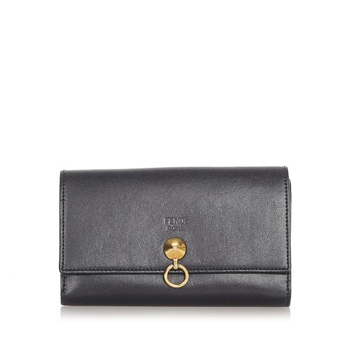 Fendi By The Way Leather Wallet