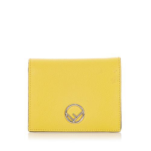 Fendi F is Fendi Leather Small Wallet