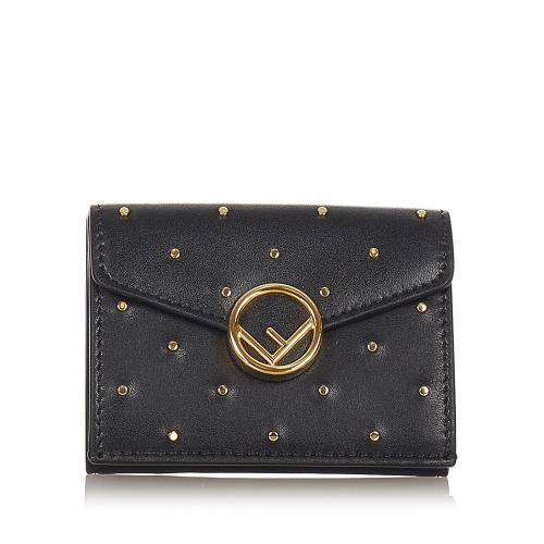 Fendi F is Fendi Leather Wallet