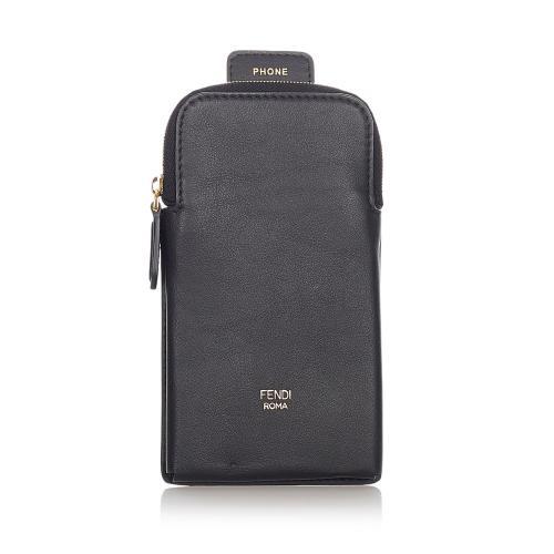 Fendi Leather Phone Case