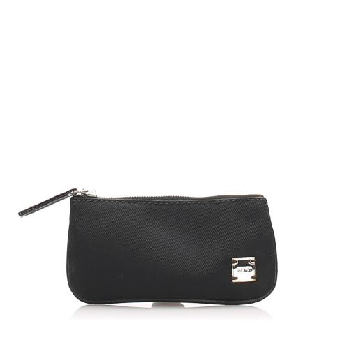 Fendi Nylon Coin Pouch
