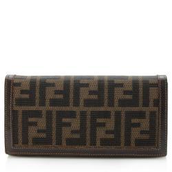 Fendi Vintage Zucca Long Wallet
