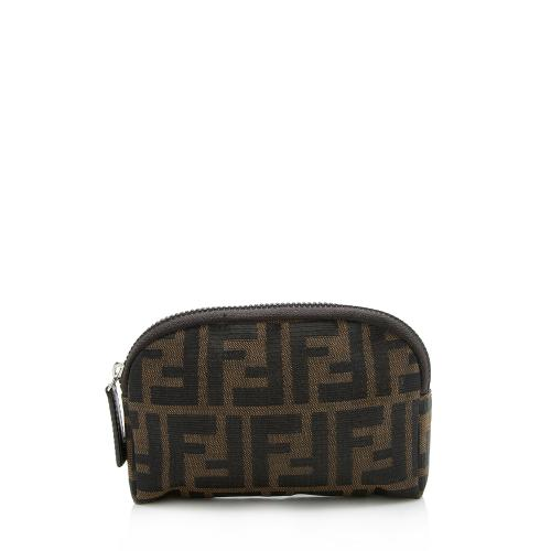 Fendi Vintage Zucca Small Cosmetic Bag