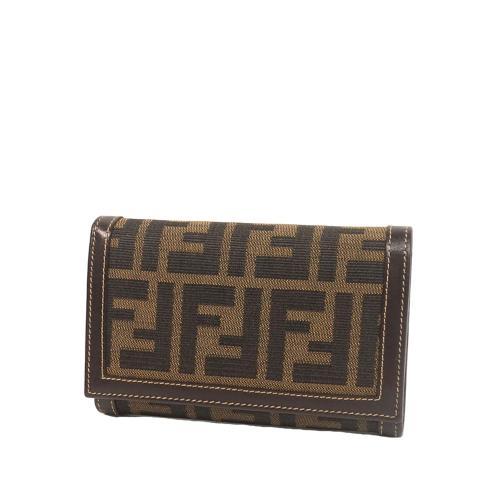 Fendi Zucca Bi-fold Wallet