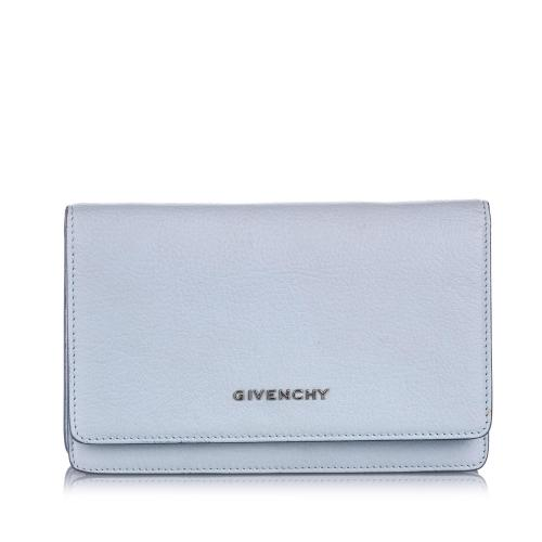 Givenchy Leather Pandora Wallet on Chain