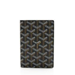 Goyard Goyardine Canvas Passport Holder
