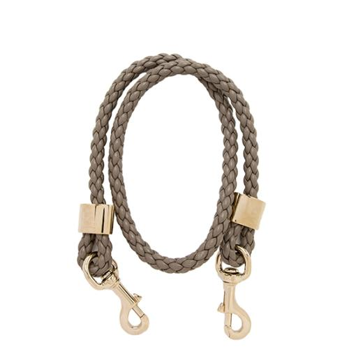 Gucci Braided Leather Shoulder Strap