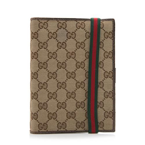 Gucci GG Canvas Agenda Cover