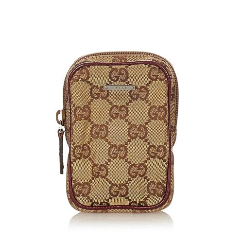 Gucci GG Canvas Cigarette Case