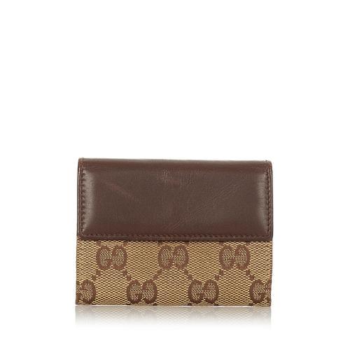 Gucci GG Canvas Coin Pouch