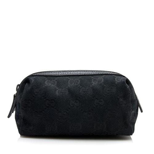 Gucci GG Canvas Cosmetic Case