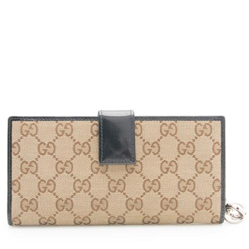 982b981fcb7 Gucci Gg Canvas Wallet - Image Of Wallet