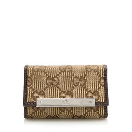 Gucci GG Canvas Key Holder