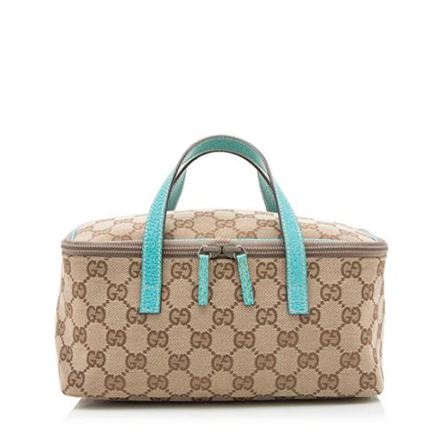Gucci GG Canvas Small Vanity Cosmetic Case