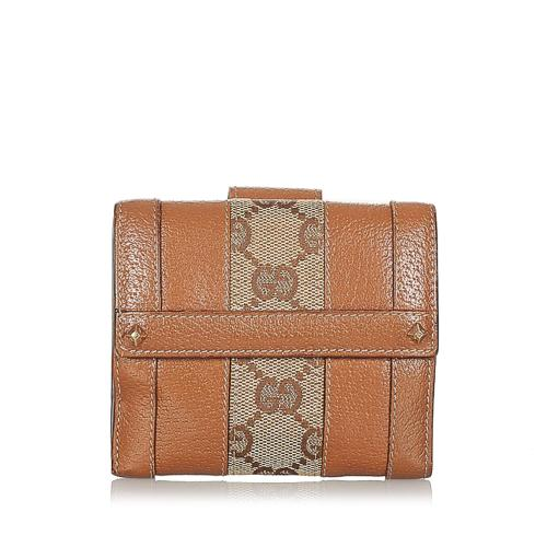 Gucci GG Canvas Small Wallet