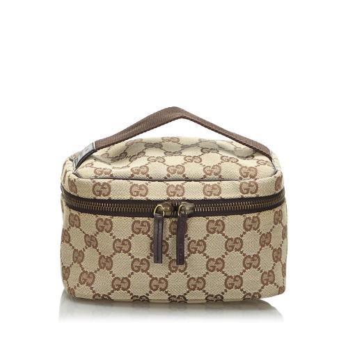 Gucci GG Canvas Small Cosmetic Case