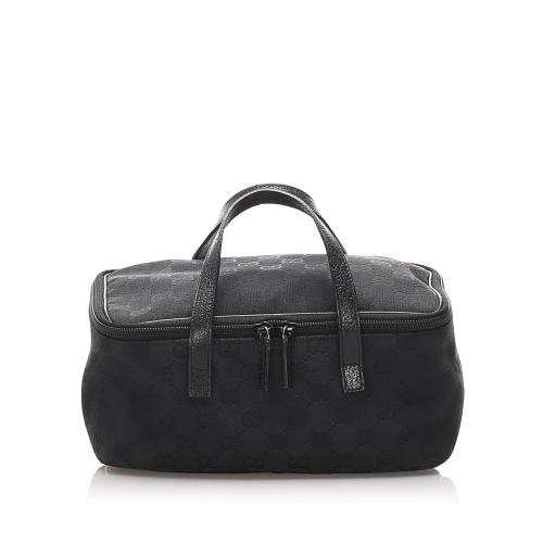 Gucci GG Canvas Vanity Bag