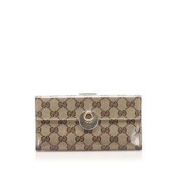 Gucci GG Crystal Continental Wallet