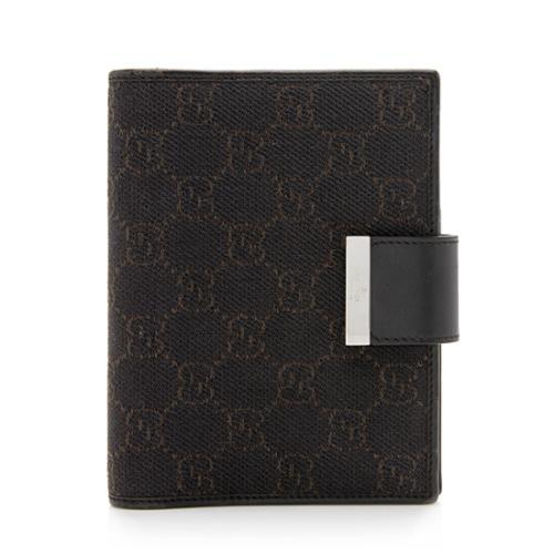 Gucci GG Cavas Small Ring Agenda Cover  - FINAL SALE