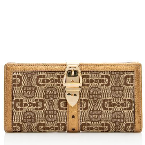 Gucci GG Horsebit Glam Wallet