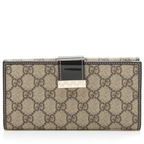 Gucci GG Plus Flap Continental Wallet