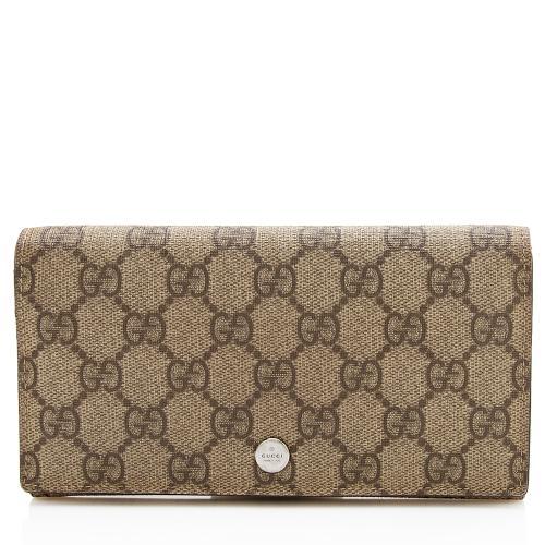 Gucci GG Supreme Bi-Fold Wallet