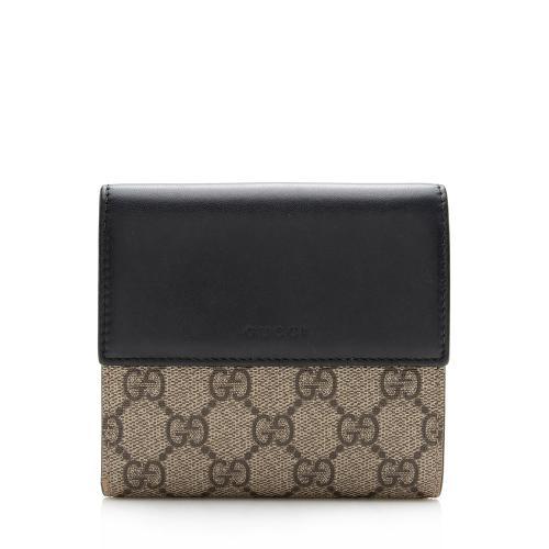 Gucci GG Supreme French Wallet
