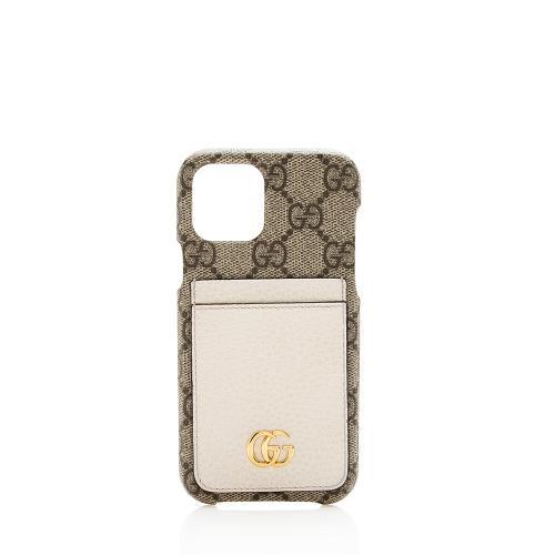 Gucci GG Supreme iPhone 12 Pro Case