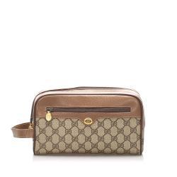 Gucci GG Supreme Vanity Bag