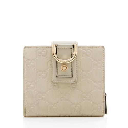 Gucci Guccissima Abbey Compact Wallet