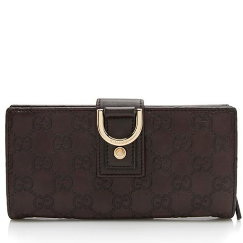Gucci Guccissima Leather Abbey Wallet