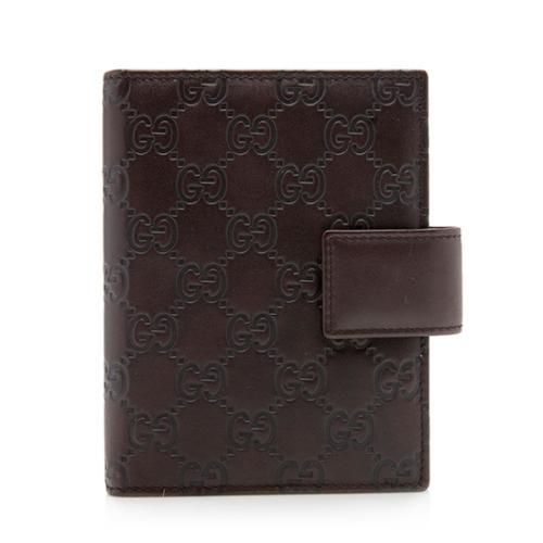 Gucci Guccissima Leather Agenda Cover