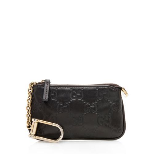 Gucci Guccissima Leather Key Case