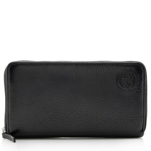 Gucci Leather Soho Zip Wallet