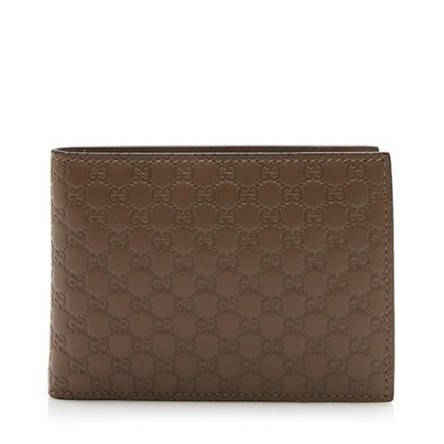 Gucci Microguccissima Leather Bi-Fold Large Wallet