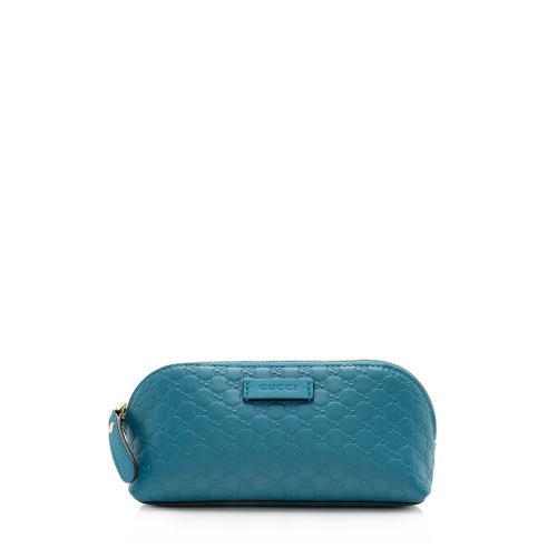 Gucci Microguccissima Leather Cosmetic Case