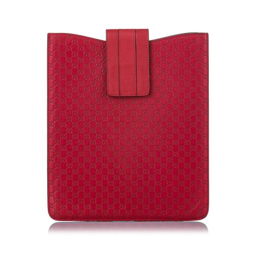 Gucci Microguccissima Leather Tablet Case