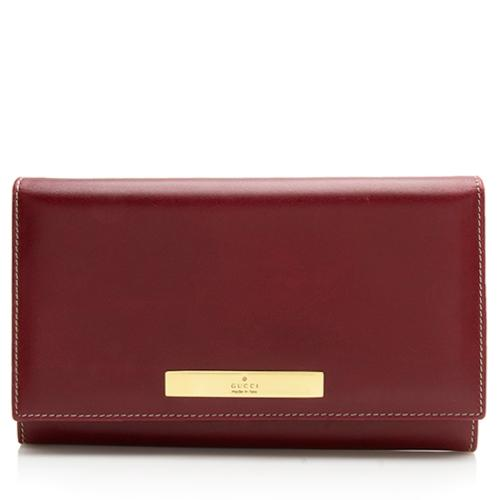 Gucci Smooth Leather Coin Purse Wallet