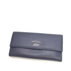 Gucci Leather Swing Continental Wallet