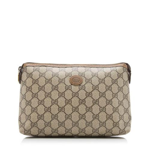 Gucci Vintage GG Plus Cosmetic Pouch