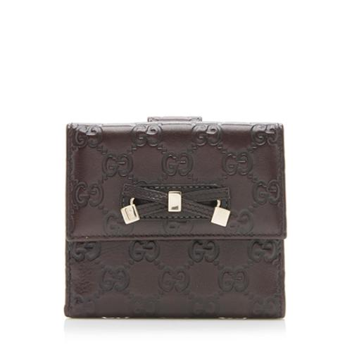 Gucci Guccissima Leather Princy Wallet