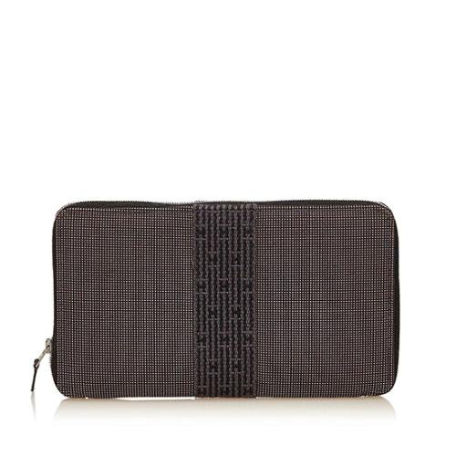 Hermes Canvas Herline GM Wallet